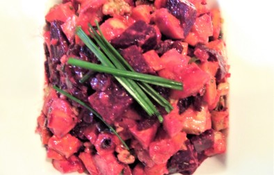 Warm Roasted root Salad