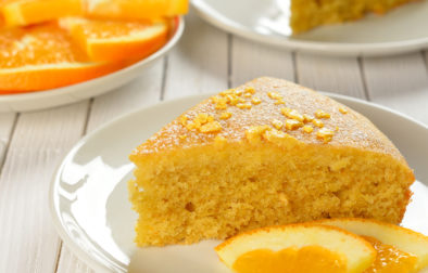 vegan Orange Carrot cake
