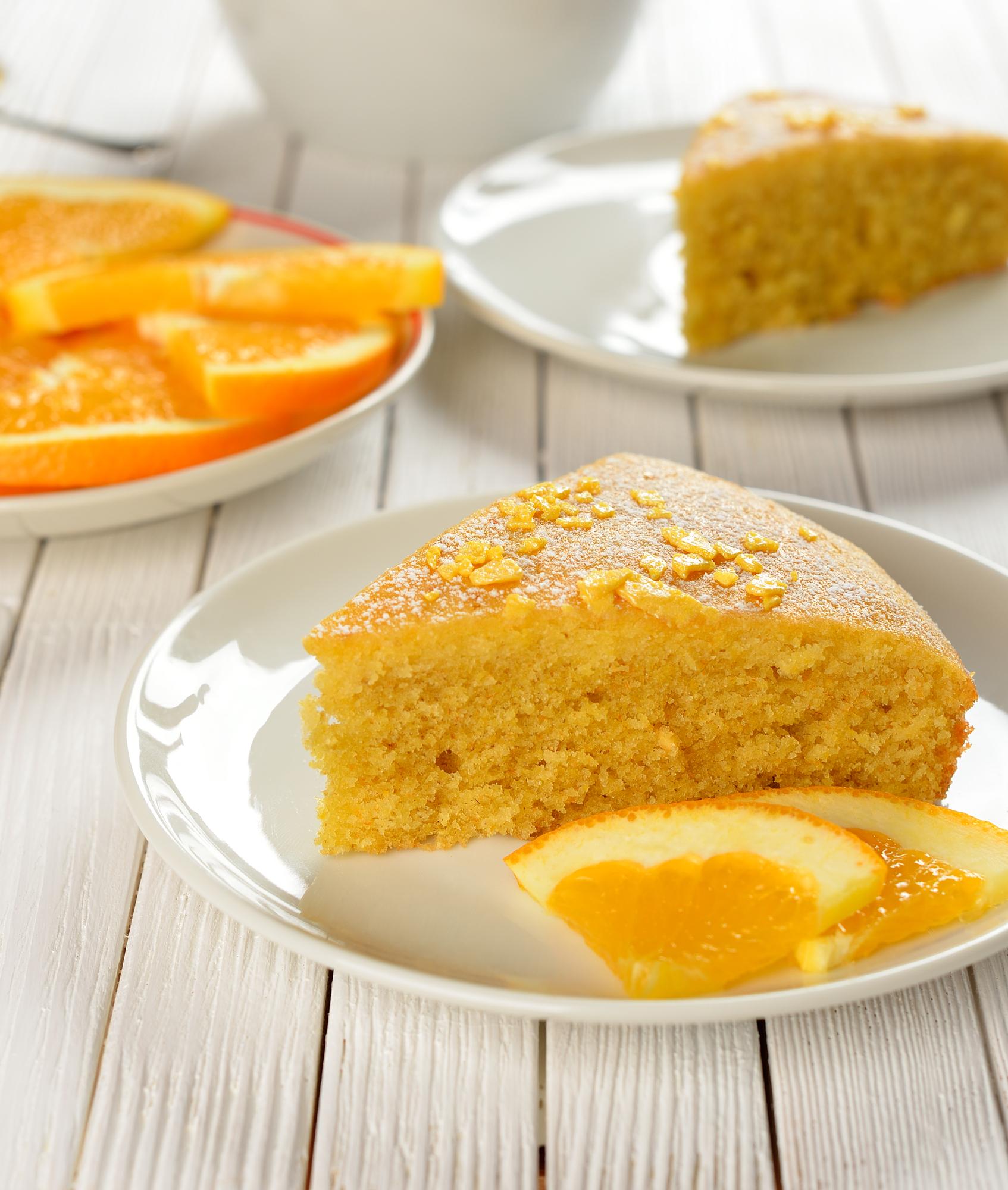 vegan Orange Carrot cake