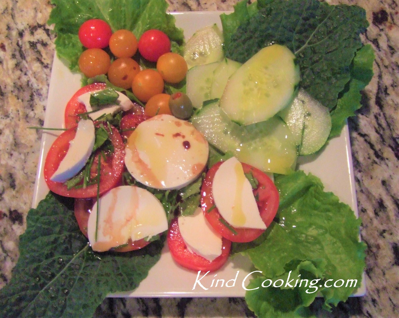 Fresh salad spread