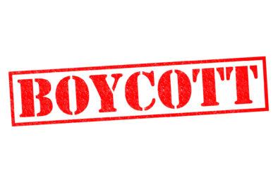 Meat boycott