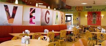 University North Texas Vegan-cafeteria