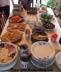 Vegan Thanksgiving Meal