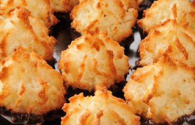 Vegan Low-fat coconut macaroons