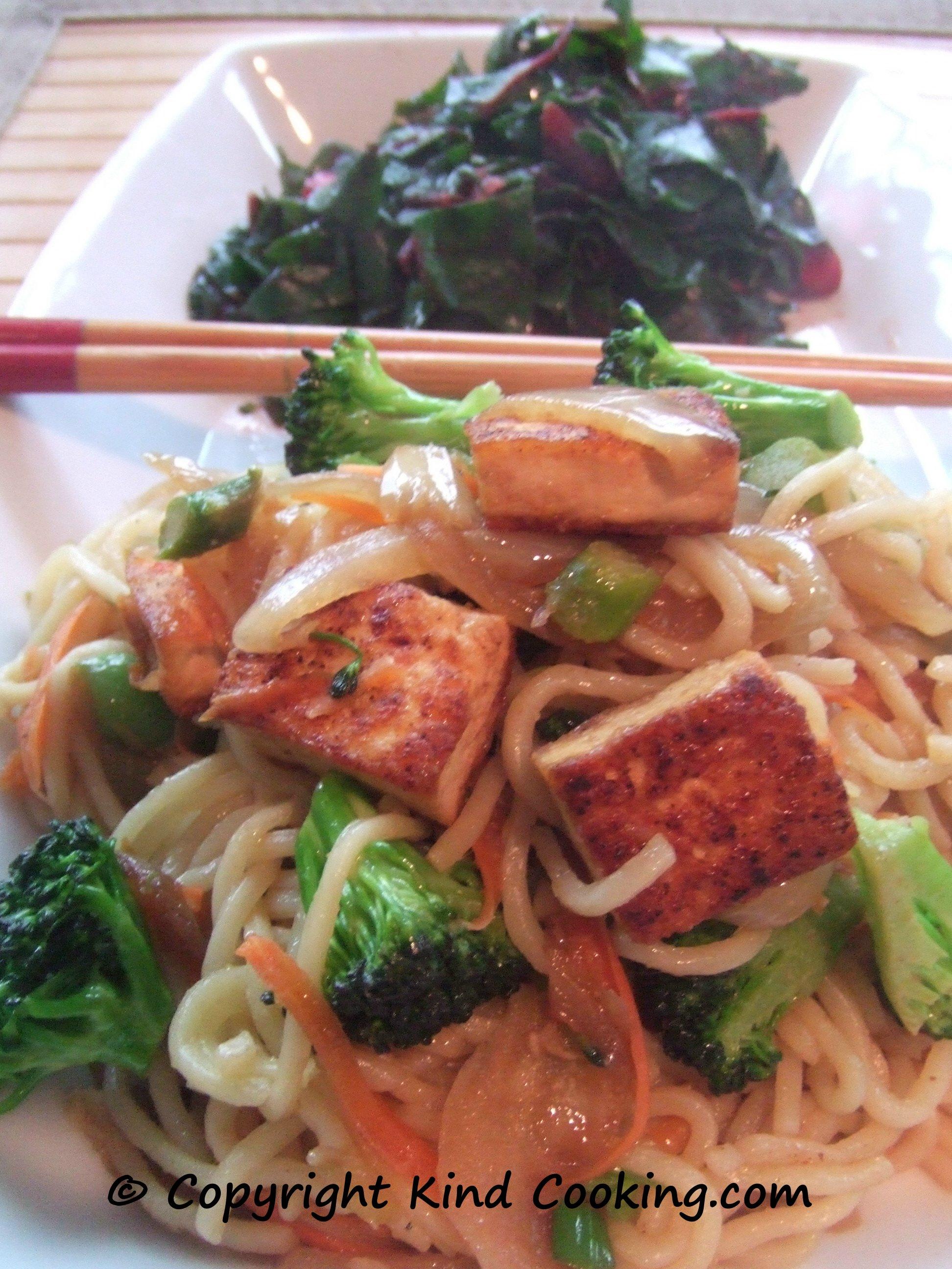 Stir-fry with yakisoba noodles