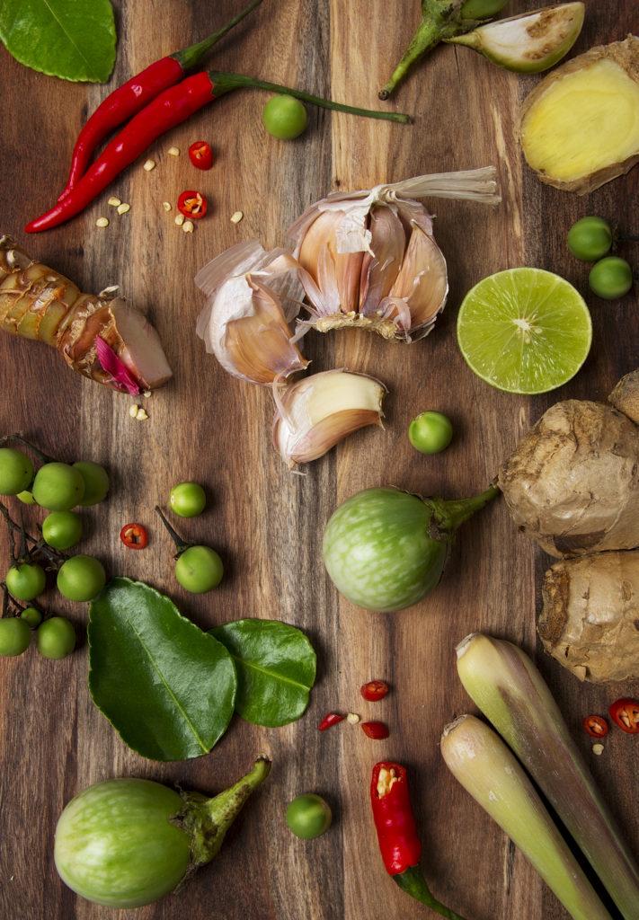 Vegan Thai Ingredients