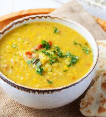 Vegan Dahl Lentil Soup
