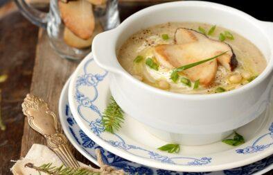 Dairy-free mushroom soup