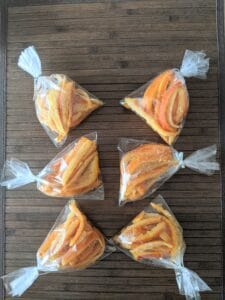 Candied Oranges bags