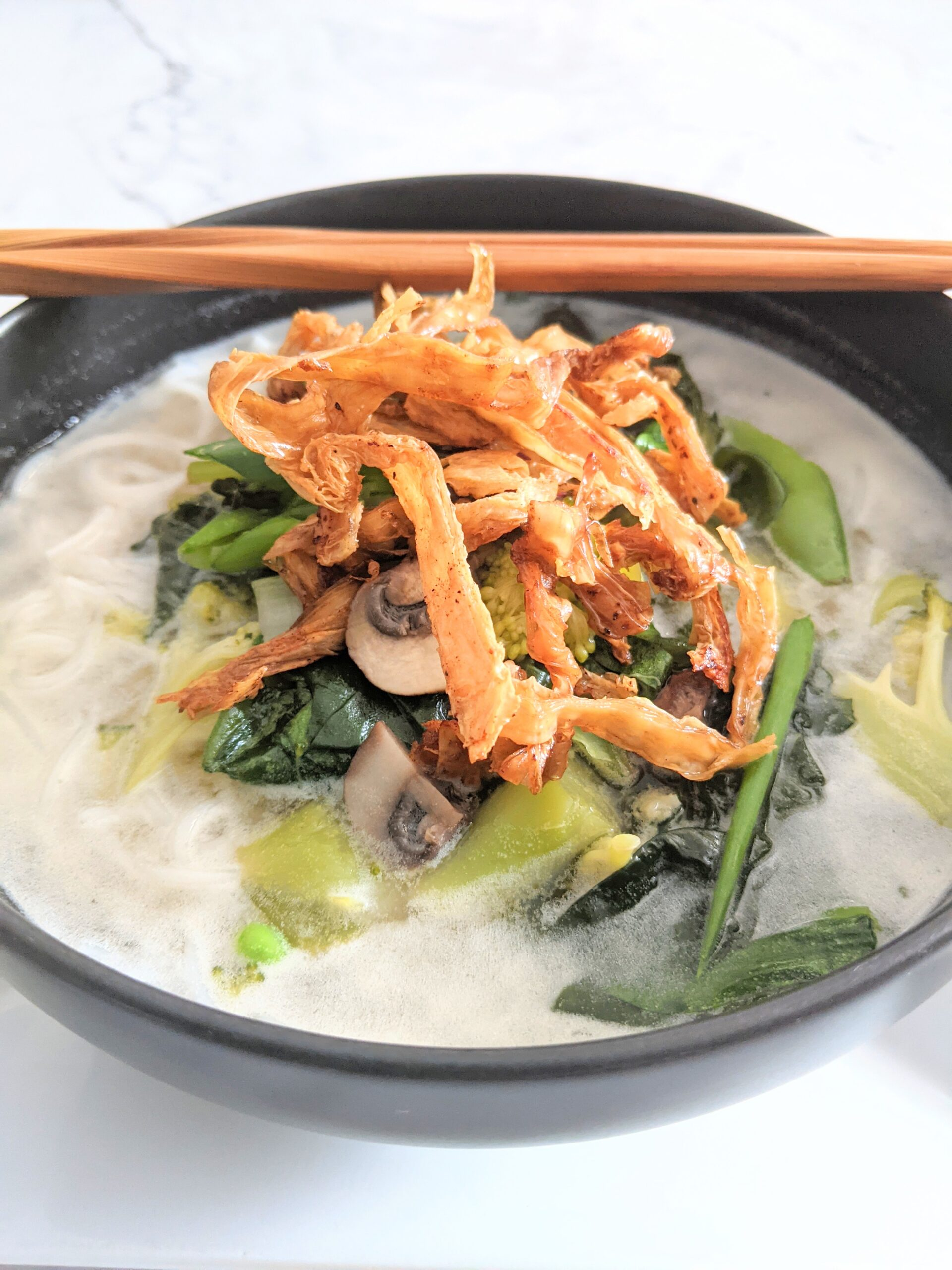 Coconut pho soup