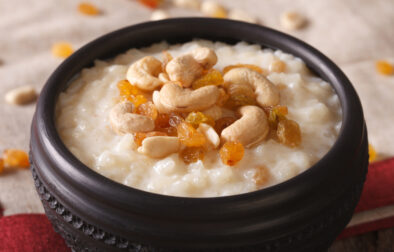 Dairy-free Indian rice pudding