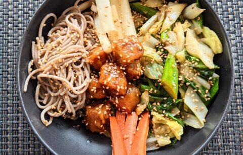 Ramen noodle bowl