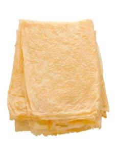 Yuba bean curd sheet