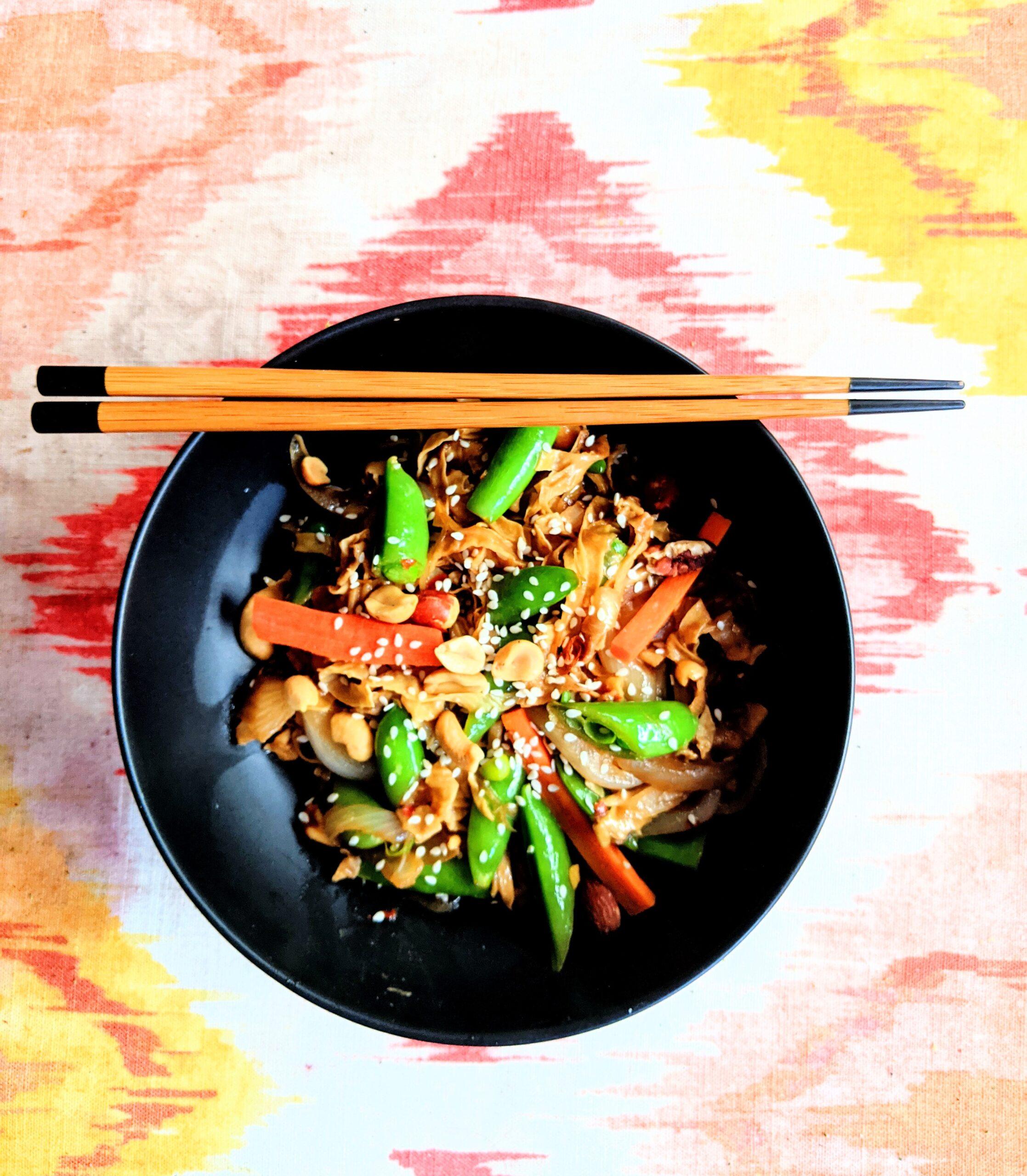 Yuba noodle bowl