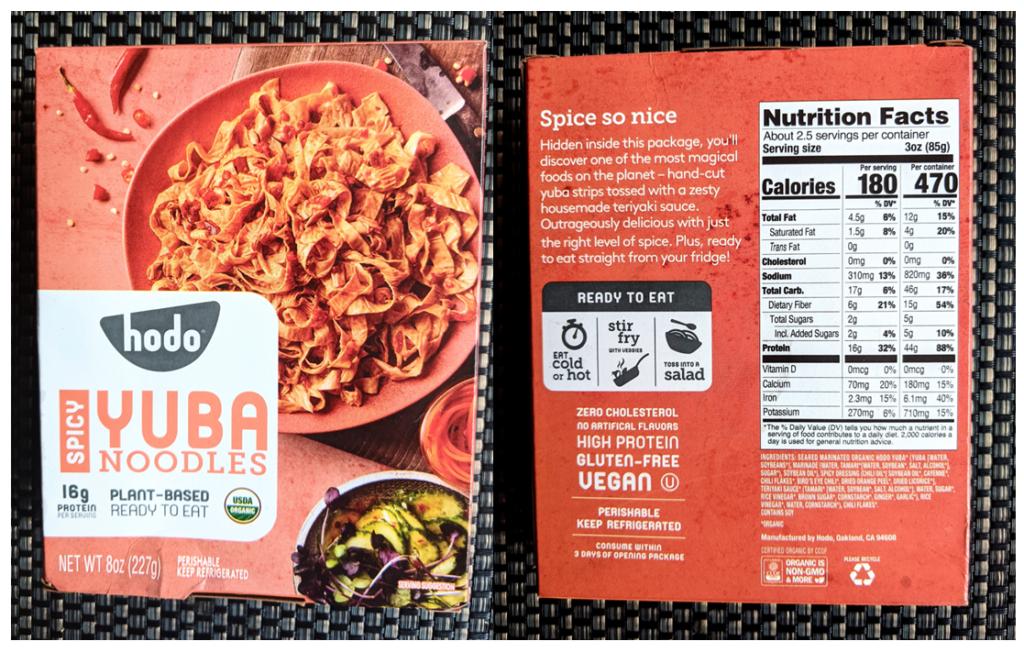 Yuba Noodles