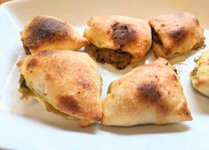 air-fried samosas