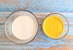 Vegan Fried Egg ingredients