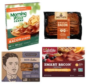 Veggie bacon brands