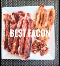 Homemade vegan bacon