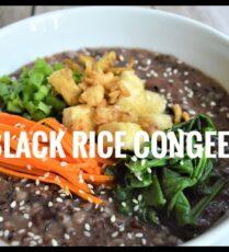 Black Rice Congee