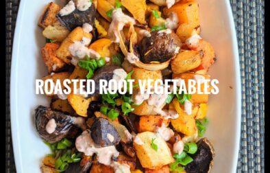 Roasted Rood Vegetables